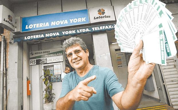 ganhador loteria